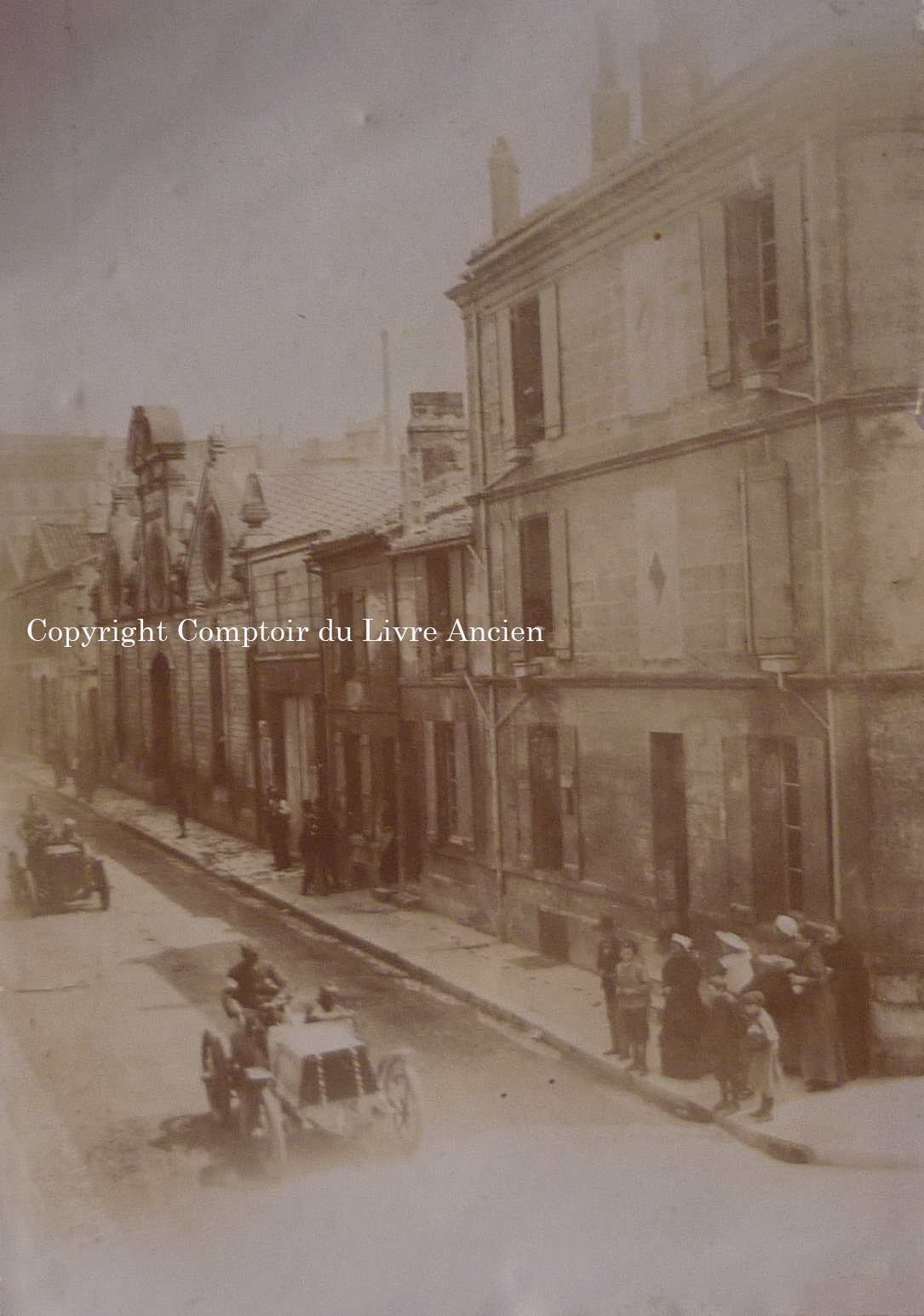 Angoul me course paris madrid 1903 rares tirages for Comptoir du meuble angouleme